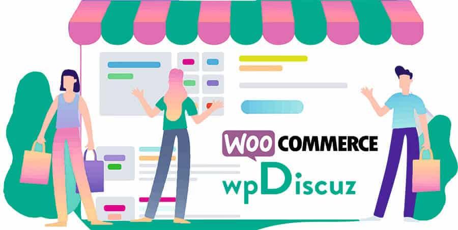 Интеграция wpDiscuz с WooCommerce